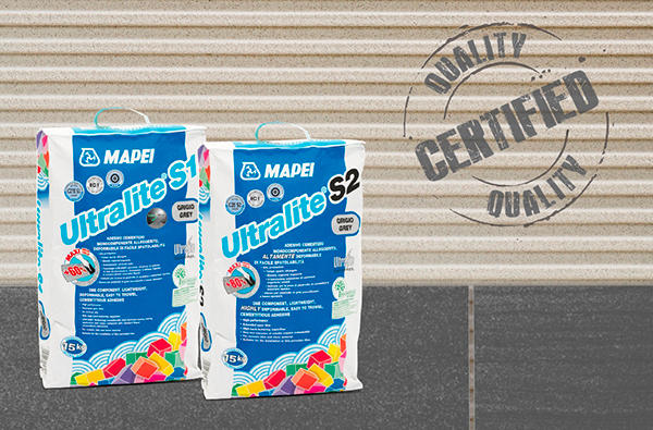 ULTRALITE S1 and S2 by MAPEI