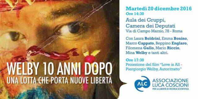 Martedì 20 dicembre a Roma