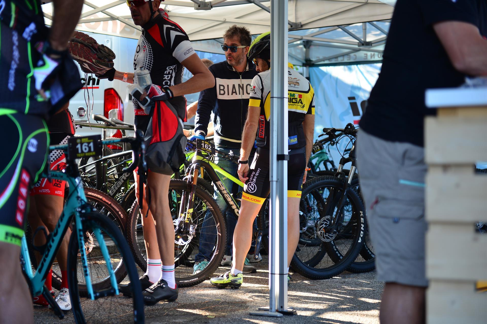 Bike Experience: lo stand Bianchi