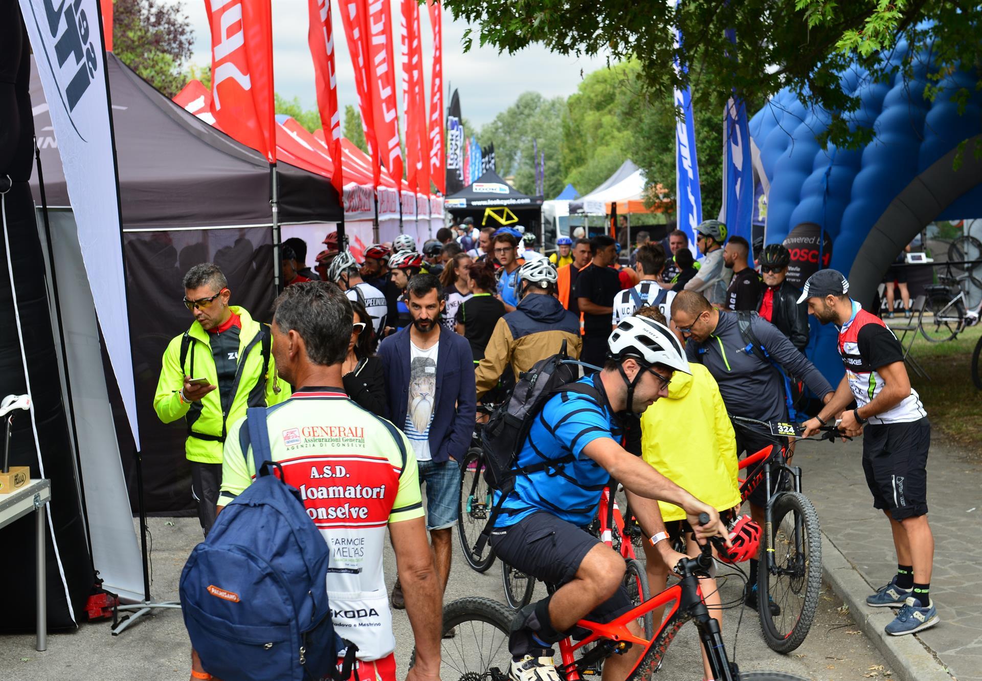 Il pubblico di Bike Experience