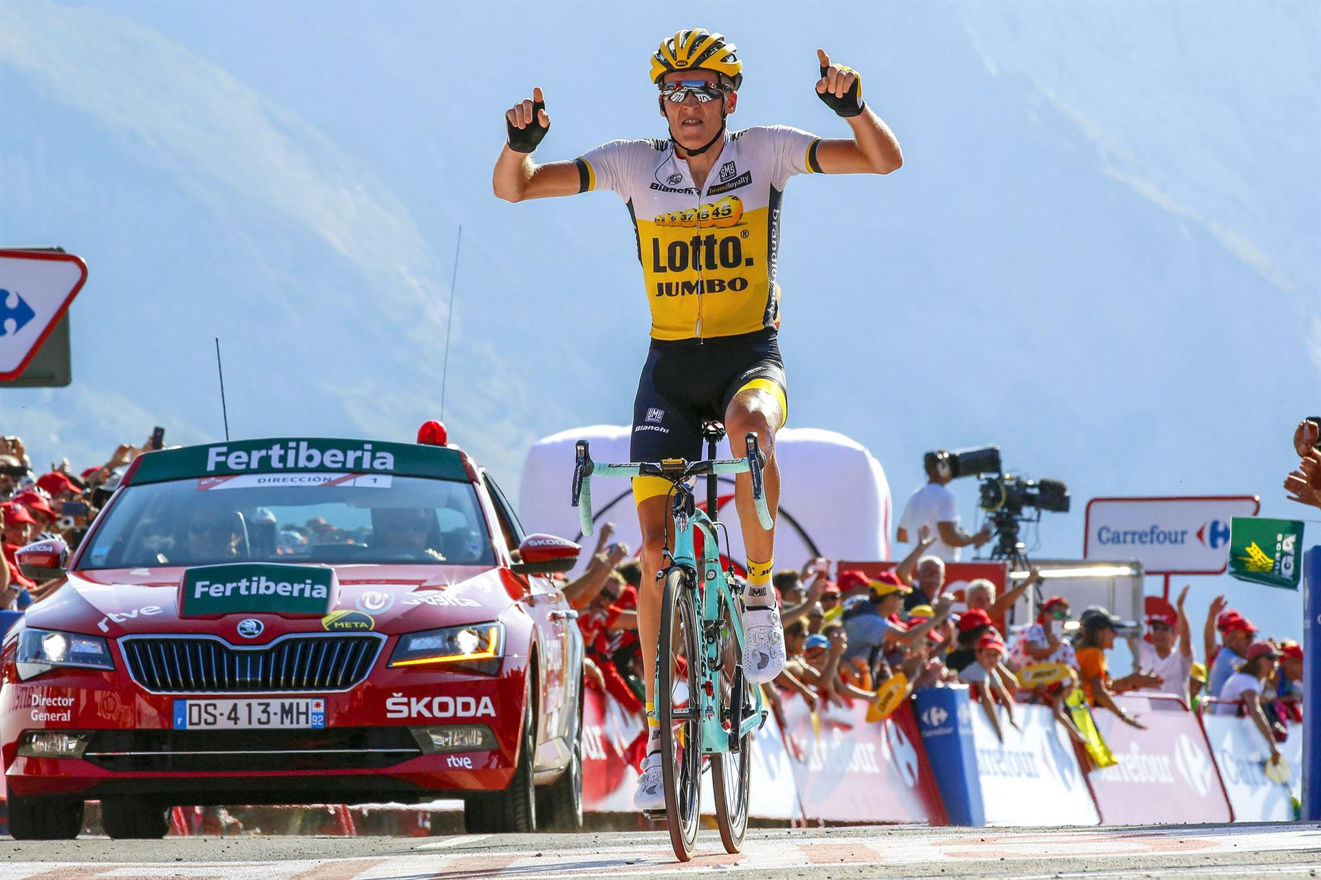 Robert Gesink's win at Vuelta a Espana