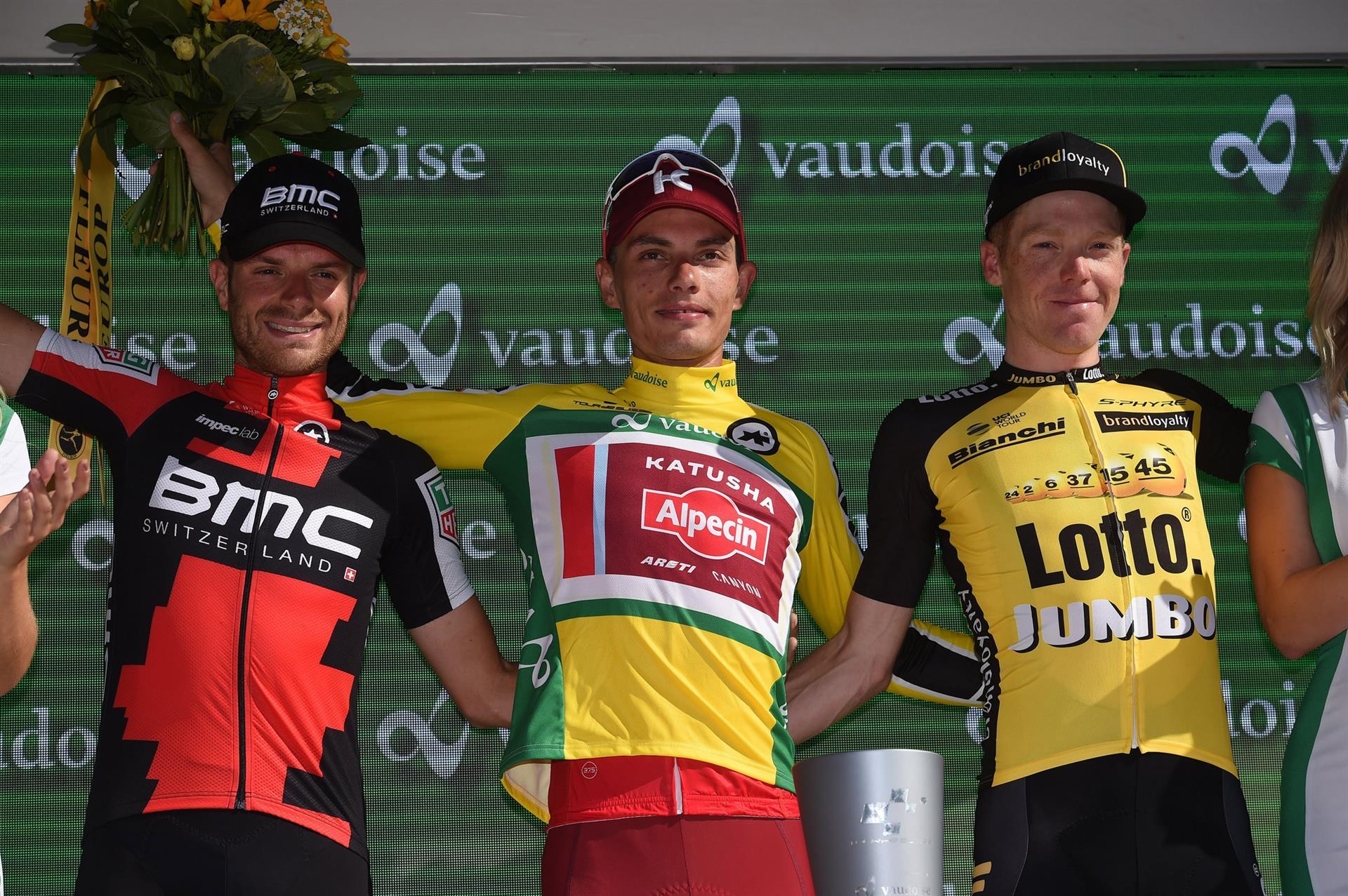 Podio Tour de Suisse