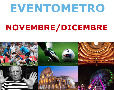 Eventometro Novembre 2017