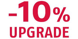 10% upgrade