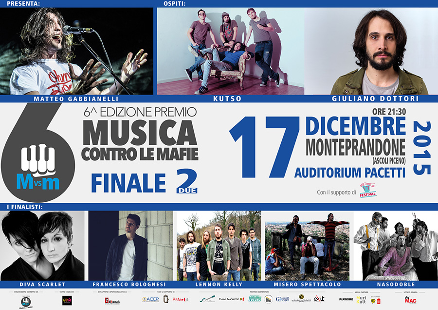 MANIFESTO2_web Prosegue ''Musica contro le mafie''