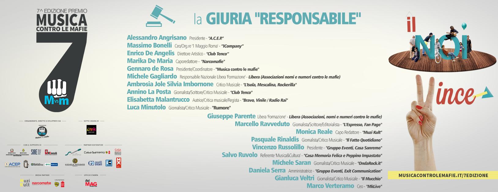 banner-giuria-resp Musica contro le mafie - 7à edizione